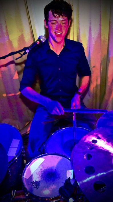 Harrie Job Fisser - drums (Scheveningen)