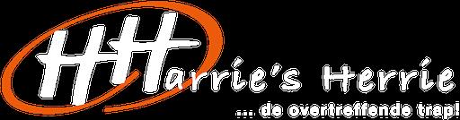 Harrie's Herrie logo compleet invers