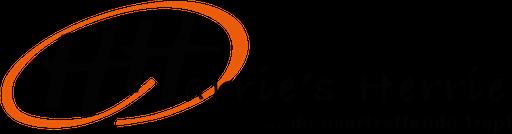 Coverband Harrie's Herrie logo compleet