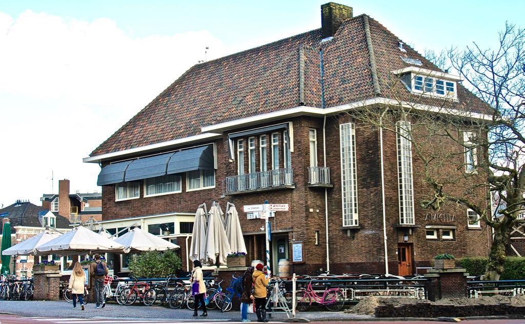 Stadscafé van der Werff, Leiden